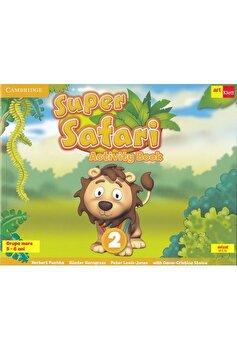 Grupa Mare. Super Safari 2. Activity Book - CD/Herbert Puchta, Gunter Gerngross, Peter Lewis-Jones, Oana Cristina Stoica