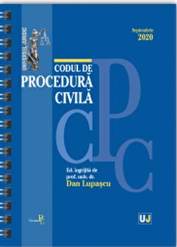 Codul de procedura civila septembrie 2020/Dan Lupascu imagine elefant.ro 2021-2022