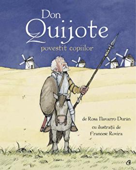 Don Quijote povestit copiilor/Rosa Navarro Duran imagine elefant 2021