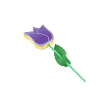 Flowering Notes Tulip yellow/purple/*** imagine elefant.ro 2021-2022