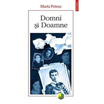 Coperta Carte Domni si Doamne/Marta Petreu