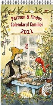 Imagine Pettson Si Findus - Calendarul Familiei 2021 - sven Nordqvist