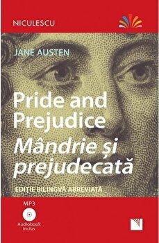 Pride and Prejudice - Mandrie si prejudecata (editie bilingva abreviata) - Audiobook inclus /Jane Austen imagine