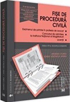 Fise de procedura civila/Ciurea Andreea imagine elefant.ro