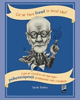 Ce-ar face Freud in locul tau? Cum ar rezolva cei mai mari psihoterapeuti problemele tale cotidiene/Sarah Tomley imagine elefant.ro 2021-2022