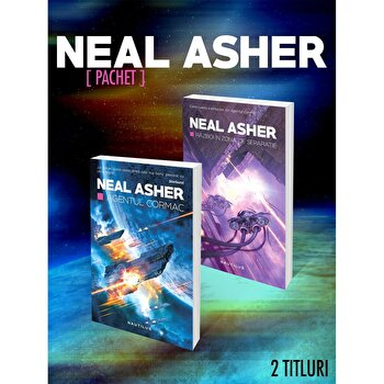 """Pachet """"Neal Asher"""" 2 volume/Neal Asher poza cate"""