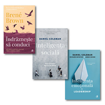Leadership/Brene Brown, Daniel Goleman imagine elefant.ro 2021-2022