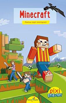 Pixi stie - tot. Minecraft/Marina Moskvina
