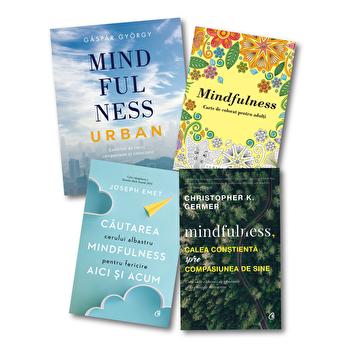 Pachet Mindfulness/Joseph Emet, Christopher K. Germer, Gaspar Gyorgy poza cate