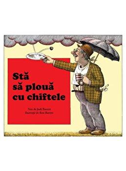 Sta sa ploua cu chiftele/Judi Barrett