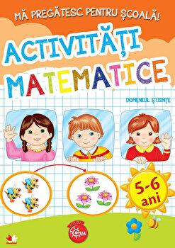 Ma Pregatesc Pentru Scoala. Activitati Matematice (Fise Activitati) 5-6 Ani/***