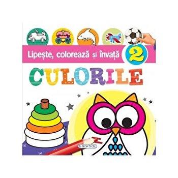 Lipeste, coloreaza si invata culorile 2/***