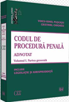 Codul de procedura penala adnotat/Voicu Puscasu imagine elefant.ro