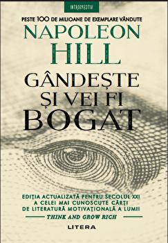 Coperta Carte Gandeste si vei fi bogat/Napoleon Hill