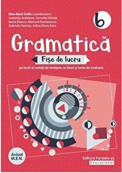 Gramatica. Fise de lucru. Clasa VI. 2020-2021/***
