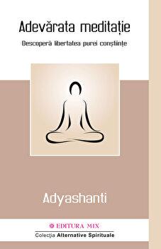 Adevarata meditatie. Descopera libertatea purei constiinte/Adyashanti imagine