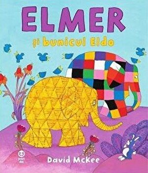 Elmer si bunicul Eldo/David McKFee imagine elefant 2021