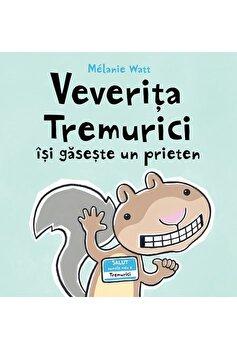 Veverita Tremurici isi gaseste un prieten/Melanie Watt imagine elefant.ro 2021-2022