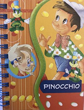 Pinocchio - poveste si activitati/***
