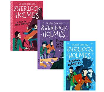 Pachet Sherlock Holmes 1 - 3/Stephanie Baudet