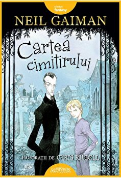 Cartea cimitirului/Neil Gaiman imagine elefant.ro 2021-2022
