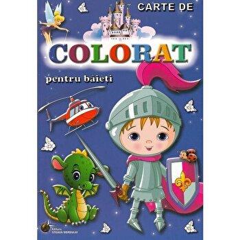 Carte de colorat pentru baieti/***