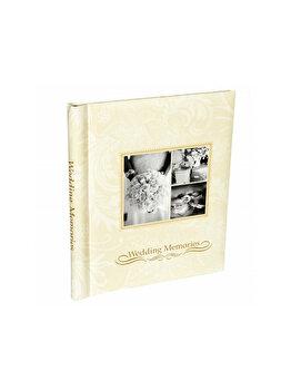 Album foto de nunta Wedding Memories cu 40 pagini, crem imagine