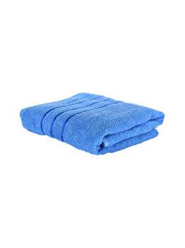 Prosop de baie, Quasar & Co., 100 % bumbac, 50 x 90 cm, albastru imagine