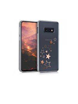 Husa pentru Samsung Galaxy S10e Kwmobile, rezistent la socuri, rezistent la zgarieturi, silicon, Roz