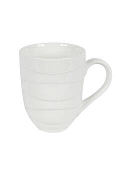 Cana din ceramica, JAMIE OLIVER, 300 ml, cana cafea/ceai, crem