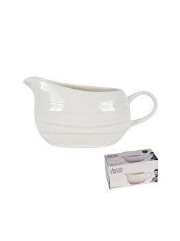 Sosiera ceramica, Jamie Oliver, recipient pentru sosuri, 500 ml, crem imagine