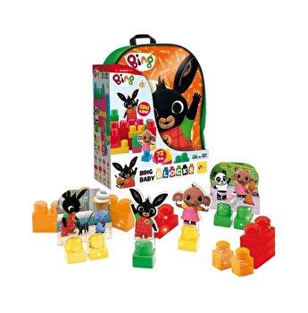 Set de constructie Baby Blocks cu 36 de piese in ghiozdanel Bing