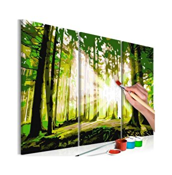 Pictura pe numere - Forest (Spring) - 120 x 80 cm