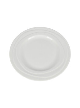 Farfurie ceramica, Jamie Oliver, farfurie aperitiv/fel principal, rotunda, d 21 cm, crem elefant
