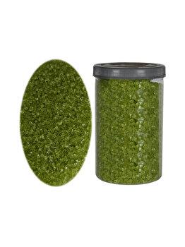 Sticla maruntita de decor, sticla ornamentala, pietris decorativ, Rasteli, 2000 g, verde spring, art. 2567 imagine 2021
