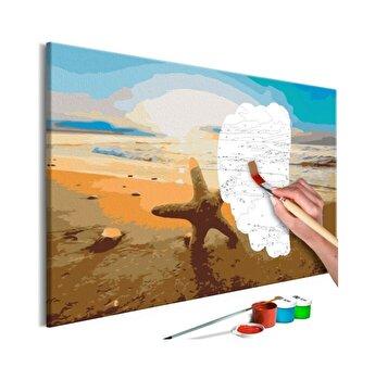 Pictura pe numere - Sea Finds - 60 x 40 cm