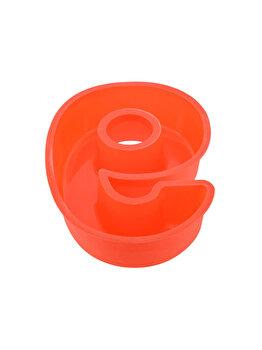 Forma de copt din silicon cifra 9, termorezistenta de la -40 la +230 grade C, h 23.5, mare, forma de tort / prajitura in forma cifrei 9, tava cifra 9, tava copt, tava silicon, rosu, Quasar&Co.