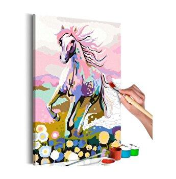 Pictura pe numere - Fairytale Horse - 40 x 60 cm