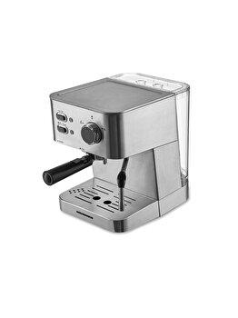 Espressor, Heinner, Hem-1050ss, 20 Bar, 1050 W, 1.5 L, Filtru Dublu Din Inox, Plita Calda, Inox, Argintiu