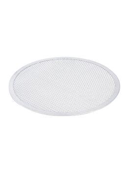Tava sita pentru pizza, Hendi, 36 cm, 617557, aluminiu, Alb imagine