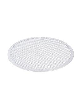 Tava sita pentru pizza, Hendi, 23 cm, 617502, aluminiu, Alb poza
