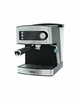 Espressor Manual, Samus, Espressimo 20 Silver, 850 W, 20 Bar, 1.6 L, Inox, Argintiu