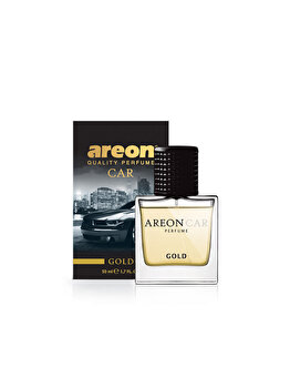 Odorizant auto lichid Areon, parfum 50 ml, New design Gold imagine