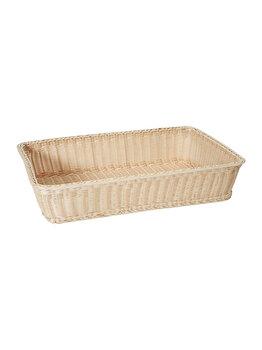Cos pentru paine, Hendi, 53 x 32 x 9 cm, 561102, polipropilena, Crem