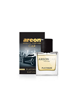Odorizant auto lichid Areon, parfum 50 ml, New design Platinum imagine