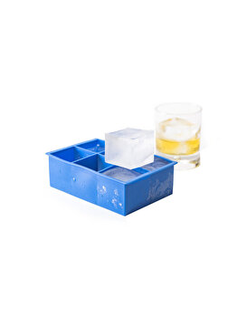 Forma pentru gheata XL, Hendi, 5 x 5 x 5 cm, 679036, silicon, Albastru imagine