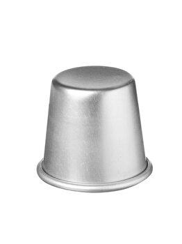 Forma tip baba model simplu, Hendi, 7 x 6.8 cm, 689806, aluminiu, Gri