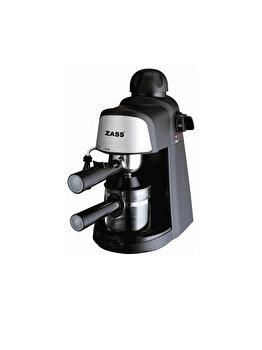 Espressor Manual, Zass, Zem 05 B, 800 W, 3.5 Bar, 240 Ml, Negru
