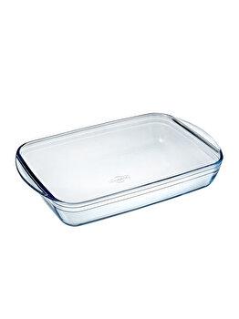 Vas termorezistent 39x24 cm Glassware Range, Ocuisine, 40605, sticla termorezistenta, Incolor elefant