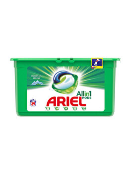 Detergent capsule Ariel All in One PODS Mountain Spring 39 spalari